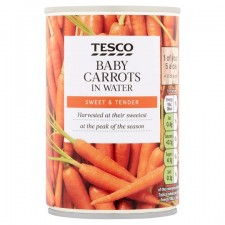 Tesco Baby Carrots 300g