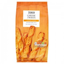 Tesco Cheese Twists 125g