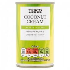Tesco Coconut Cream 160ml