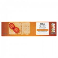 Tesco Cream Crackers 300g