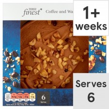 Tesco Finest Coffee And Walnut Cake