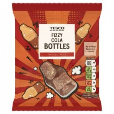 Tesco Fizzy Cola Bottles 85g