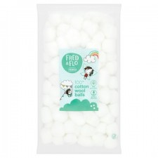 Tesco Fred and Flo Cotton Wool Balls 100