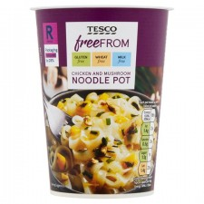 Tesco Free From Chicken and Mushroom Noodles Pot 75g