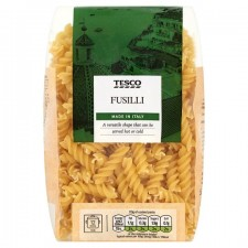 Tesco Fusilli Pasta Twists 500g