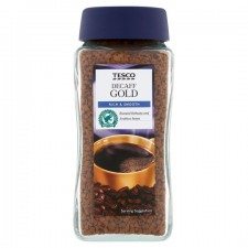Tesco Gold Decaffeinated Coffee 100g