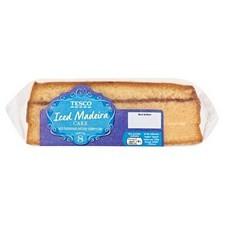 Tesco Iced Madeira Cake 370g