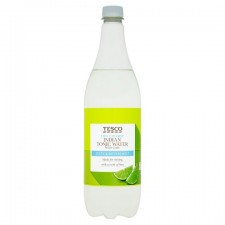 Tesco Low Calorie Tonic Water With Lime 1 Litre