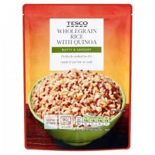 Tesco Microwave Wholegrain Rice And Quinoa 250G