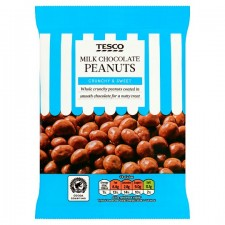 Tesco Milk Chocolate Peanut 200G