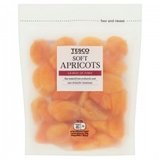 Tesco Ready To Eat Apricots 250g.