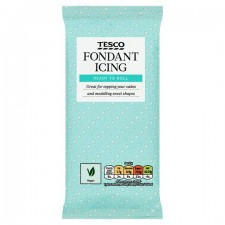 Tesco Ready To Roll Fondant Icing White 500g