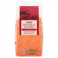 Tesco Red Split Lentils 1Kg