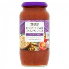 Tesco Rogan Josh Cooking Sauce 500g jar