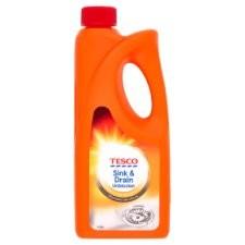 Tesco Sink and Drain Unblocker 500ml