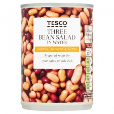 Tesco Three Bean Salad in Water 400g
