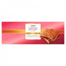 Tesco Turkish Delight Thins 200g