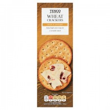 Tesco Wheat Crackers 170g