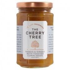 The Cherry Tree Mango and Ginger with Toasted Cumin Seeds Chutney 320g