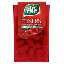 Tic Tac Mixers Cherry Cola 24x18g