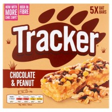Tracker Chocolate and Peanut 5 Pack
