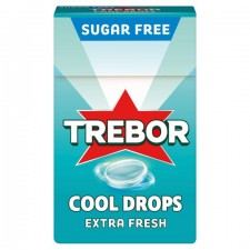 Trebor Cool Drop Extra Fresh Sweets 28g