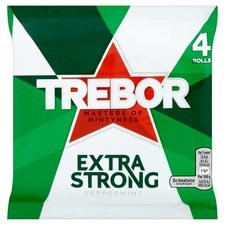 Trebor Extra Strong Mints 4x41.3g Pack