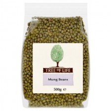 Tree of Life Mung Beans 500g