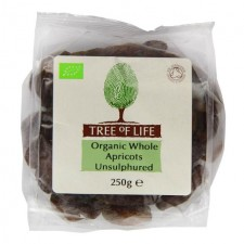Tree of Life Organic Apricots Unsulphured 250g