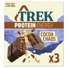 Trek Protein Energy Cocoa Chaos Multipack 3 x 55g