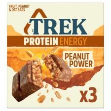Trek Protein Energy Peanut Power 3 x 55g