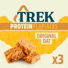 Trek Protein Original Oat Flapjack Multipack 3 x 50g