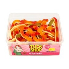 Tuck Shop Scary Snakes 60 Pack