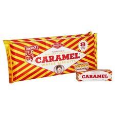 Tunnocks Caramel Wafers Milk Chocolate 8 Pack