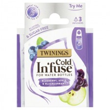 Twinings Cold Infuse Blueberry Apple and Blackcurrant Trial Pack 3 per pack