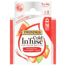 Twinings Cold Infuse Watermelon Strawberry and Mint Trial Pack 3 per pack