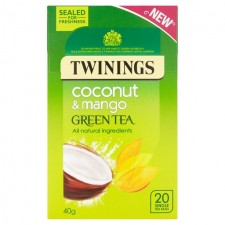 Twinings Green Tea Coconut and Mango 20 Teabags