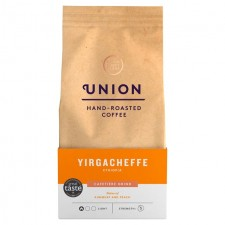 Union Coffee Organic Light Roast Cafetiere Grind Yirgacheffe Ethiopia 200g