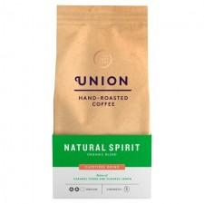 Union Coffee Organic Medium Roast Cafetiere Grind Blend Natural Spirit 200g