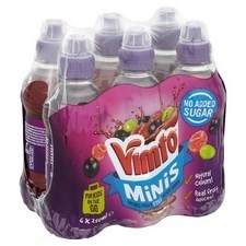 Vimto No Added Sugar Still 6x250ml