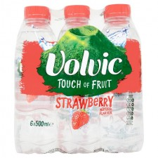 Volvic Touch Of Fruit Strawberry 6X500ml