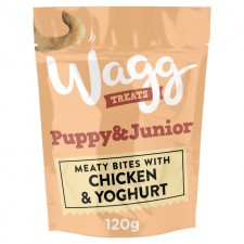 Wagg Puppy And Junior Treats with Chicken And Yoghurt 120g