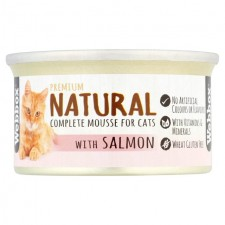 Webbox Naturals Salmon Mousse for Cats 85g