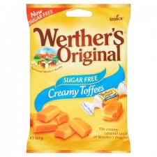 Werthers Toffee Sugar Free 80g