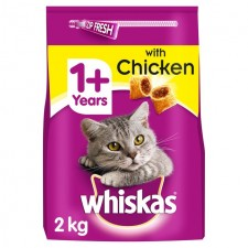 Whiskas Complete Dry Cat Food with Chicken 2kg