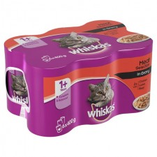 Whiskas Mixed Meat Selection in Gravy 6 x 400g