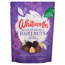 Whitworths Chocolate Biscuit and Hazelnuts 130g
