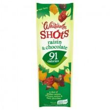 Whitworths Raisin and Chocolate Shot 25g