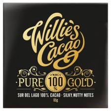 Willies Cacao Sur Del Lago 100% Pure Gold Cacoa 65g