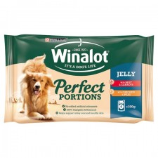 Winalot Pouch Beef And Chicken in jelly 4X100g